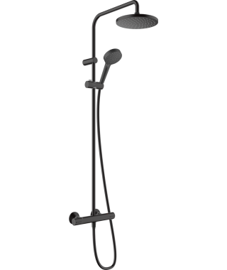Cersanit Mille bateria umywalkowa stojąca wysoka czarna S951-356