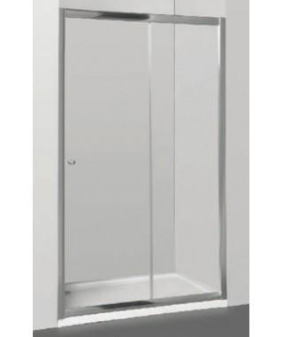 Drzwi prysznicowe 140X185cm szklane przesuwne OMNIRES BRONX S-2050 140