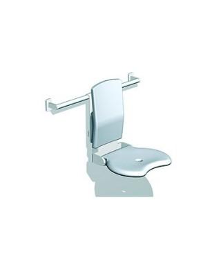 Siedzisko prysznicowe LEHNEN EVOLUTION uchylne z oparciem