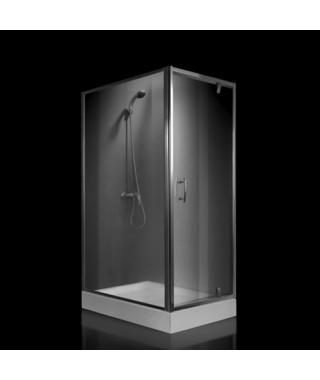Kabina prysznicowa szklana kwadratowa 80x100x190cm OMNIRES S-80/100K TR