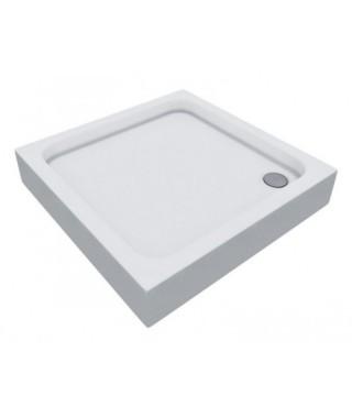 GRANDO PLUS 3.0124 Brodzik akrylowy 80x80x7/17 cm