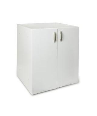 Szafka pod zlewozmywak nakładany 80x50 cm PYRAMIS biały
