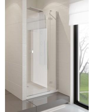 Drzwi prysznicowe 100x190 cm NEW TRENDY MODENA uchylne na zewnątrz, szkło czyste, prawe