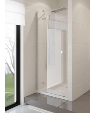 Drzwi prysznicowe 110x190 cm NEW TRENDY MODENA uchylne na zewnątrz, szkło czyste, lewe