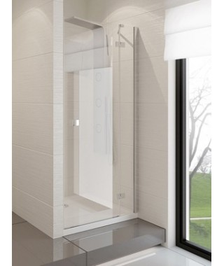 Drzwi prysznicowe 140x190 cm NEW TRENDY MODENA uchylne na zewnątrz, prawe