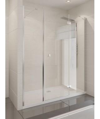 Drzwi prysznicowe 145x190 cm NEW TRENDY MODENA PLUS szkło czyste, prawe