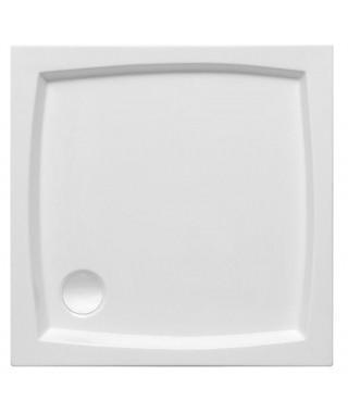 Brodzik kwadratowy POLIMAT 80 x 80 x 5 x 16 cm kompaktowy PATIO