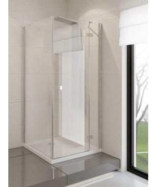 Kabina kwadratowa 100x100x190 cm NEW TRENDY MODENA szkło czyste, prawa