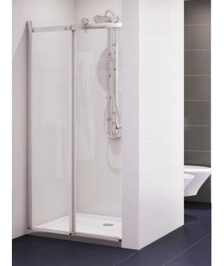 Drzwi prysznicowe 140x190 cm NEW TRENDY DIORA szkło czyste