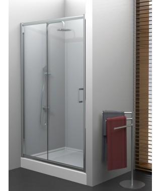 Drzwi prysznicowe 100x190 cm NEW TRENDY VARIA szkło grafit
