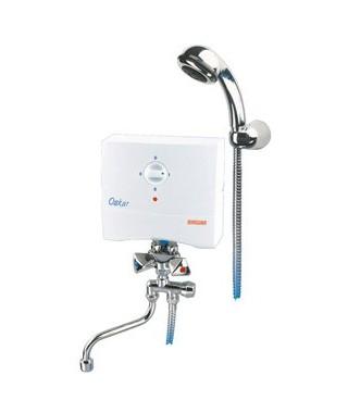BIAWAR OSKAR OP-5 S Elektryczny podgrzewacz umywalkowo-prysznicowy, bezciśnieniowy 10713