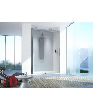 Drzwi prysznicowe 120-130cm D2/ALTII profil chrom/srebrny błyszczący. wzór szyby W0