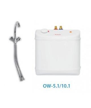 Elektryczny podgrzewacz BIAWAR OW-5,1 podumywalkowy, bezciśnieniowy + bateria
