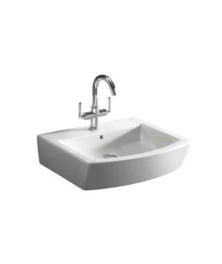 Umywalka ścienna lub nablatowa ROCA HALL 55