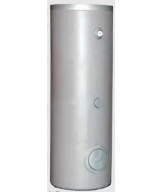 Wymiennik C.W.U. pionowy wolnostojący z wężownicą spiralną GALMET TOWER SLIM 200l na dennicy Ø 500 mm w piance poliuretanowej. s