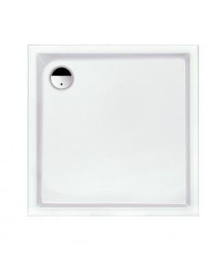 Brodzik kwadratowy 100x100x3cm SANPLAST B/PR z powłoką antypoślizgową. biały ew
