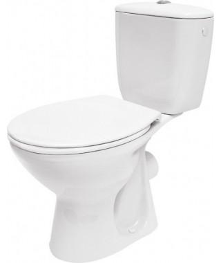 WC kompakt CERSANIT PRESIDENT odpływ poziomy + deska duroplast