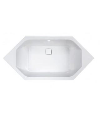 Wanna sześciokątna 90x190cm +SP SANPLAST W6k/SPACE biały ew