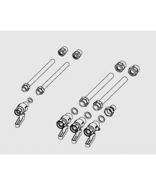Zestaw przyłączeniowy (rurki + zaworki) ARISTON Clas B, Clas B Premium