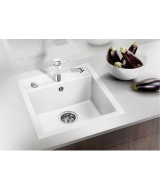 Zlewozmywak biały BLANCO DALAGO 45-F, 45x50