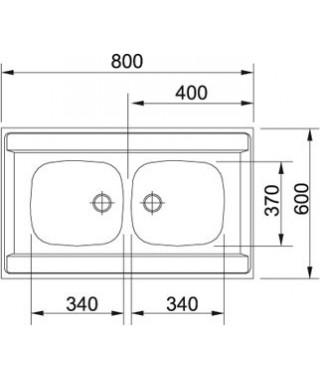 Zlewozmywak FRANKE DSL 720 T len ECO