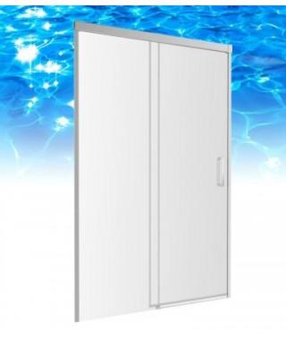 Drzwi prysznicowe 140X200cm szkło przezroczyste OMNIRES SOHO CLP14X