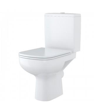 WC kompakt CERSANIT COLOUR 3/6L poziomy. doprowadzenie wody z dołu zbiornika z funkcją 3/6l
