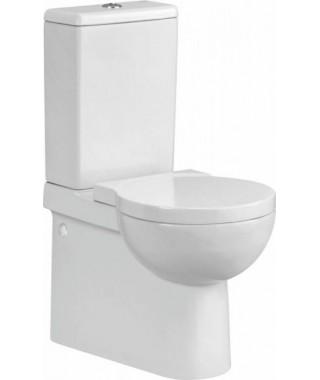 WC kompakt CERSANIT NANO 2/4L + deska antybakteryjna