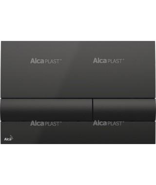 Przycisk spłukujący ALCAPLAST M1718 czarny