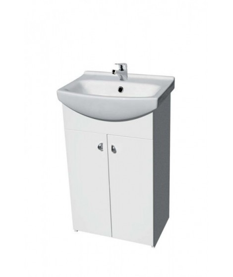Szafka CERSANIT BIANCO pod umywalkę CERSANIA NEW 55 DSM