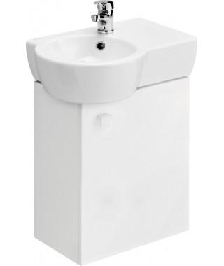 Szafka CERSANIT NANO pod umywalkę NANO 50 asymetryczna prawa/lewa