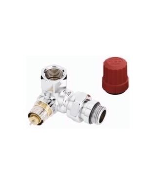 Zawór termostatyczny RA-NCX trójosiowy prawy chrom DANFOSS