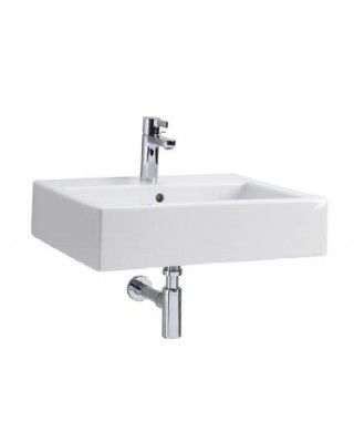 KOŁO TWINS Umywalka prostokątna 60 cm z otworem REFLEX L51160900