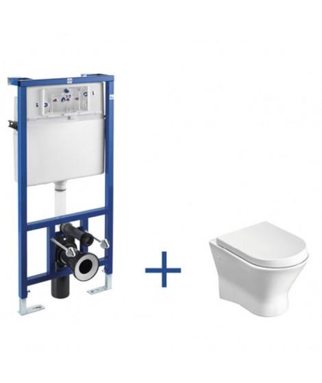 Zestaw podtynkowy Duplo + miska WC podwieszana NEXO