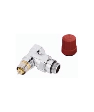 Zawór termostatyczny RA-NCX kątowy DANFOSS chrom