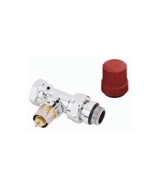Zawór termostatyczny RA-NCX prosty DANFOSS chrom