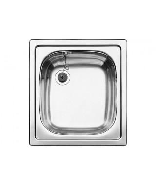 Zlewozmywak stalowy matowy BLANCO TOP EE, 43x47