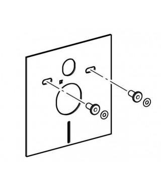 Podkładka akustyczna do miski zawieszanej i bidetu GEBERIT