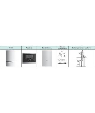 Vaillant Pakiet ecoTEC VC plus 206/5-5 + VIH Q 75 B + multiMATIC 700 + zestaw do szachtu