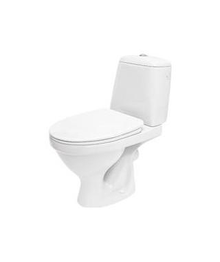 WC kompakt CERSANIT EKO odpływ poziomy + deska duroplast