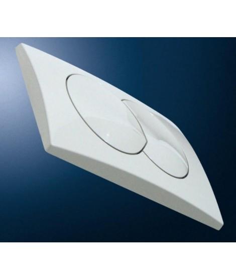 Przycisk spłukujący GEBERIT DELTA20 biały-alpin