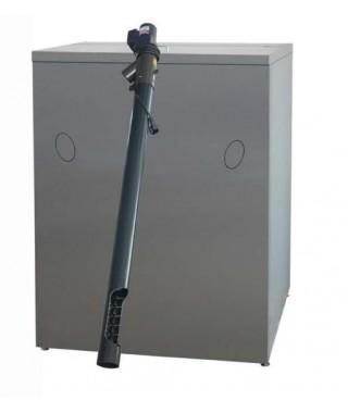 Zasobnik peletu poj. 500 l + podajnik dł. 120 cm. BIAWAR 634532