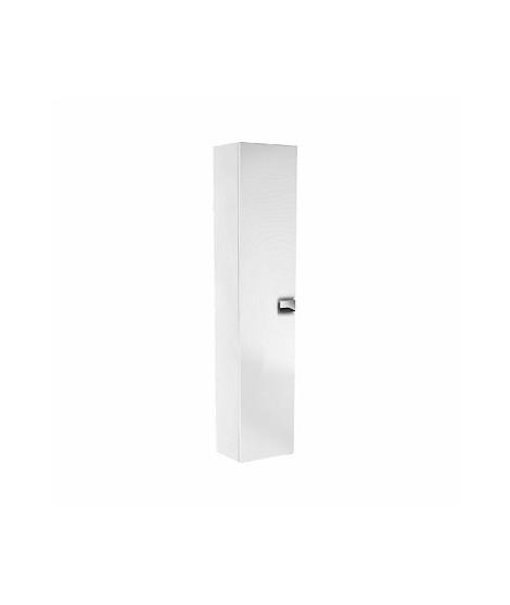 Szafka wisząca boczna. wysoka z drzwiami. KOŁO TWINS 180 cm. biały połysk