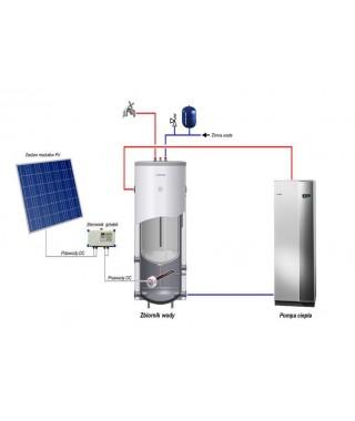 4 moduły fotowoltaiczne SV60P.4-250 Hevelius PVCW-4 BIAWAR