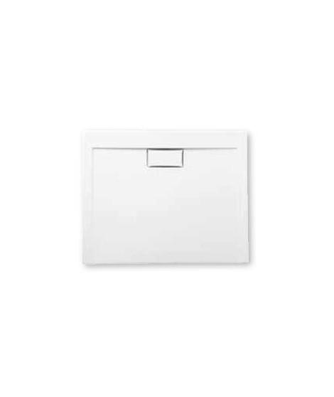 Brodzik kwadratowy POLIMAT 90 x 90 x 3 x 4,5 cm COMFORT white połysk