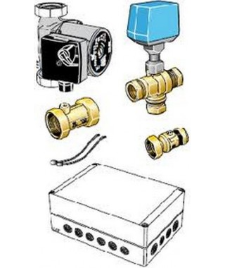 System chłodzenia pasywnego do współpracy z klimakonwektorami BIAWAR PCS 44