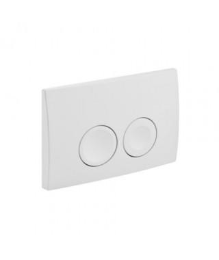 Przycisk spłukujący GEBERIT DELTA21 biały-alpin