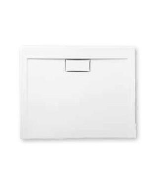 Brodzik prostokątny POLIMAT 120 x 80 x 3 x 4,5 cm COMFORT white mat