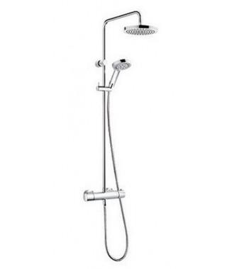 Zestaw natryskowy z termostatem KLUDI A-QA Dual Shower System