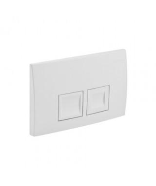 Przycisk spłukujący GEBERIT DELTA50 biały-alpin
